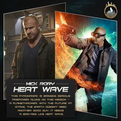 Mick Rory is Heat Wave on DC's Legends of Tomorrow. Catch up the series before tomorrow's new episode: http://www.cwtv.com/shows/dcs-legends-of-tomorrow/white-knights/?play=fa55c70a-c1b7-4908-b255-b7469c46a7c9&promo=pn-dcs-legends-of-tomorrow