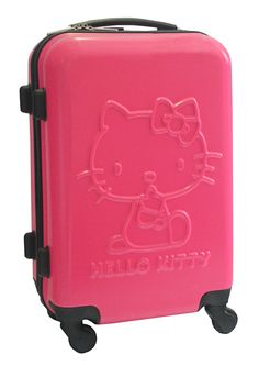 Mala de Viagem 24 Hello Kitty Pink