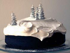 Торт Елка из крема