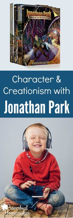 We LOVE Jonathan Park! Such a great resource for teaching a creationism view, plus great examples of godly character for the kids! Bible Resources, Learning Resources, Bible Activities, Best Books List, Book Lists, Home Schooling, Homeschool Curriculum, Sunday School, Homemaking