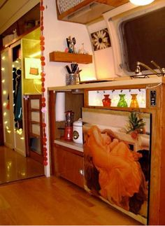 photos of airstream trailers remodeled | Remodeling a 1970 Travel Trailer