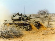The Olifant was a modified British Centurion from derived from the interim Skokiaan developed by ARMSCOR. The Centurions, Army Day, Army Vehicles, Battle Tank, Cold War, South Africa, Maine, Product Launch, African