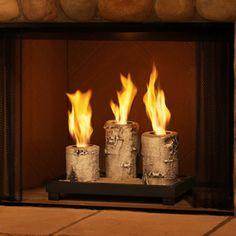 kitchen fireplace idea (gel)