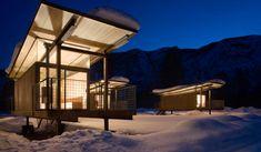 Rolling Huts. Tom Kundig - Olsen Kundig Architects