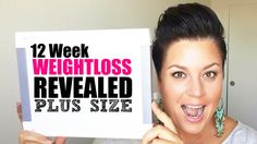PROGRESS PICTURES 12 week weight loss results - plus size fitness