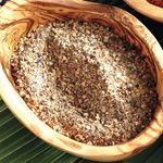 Salt and Pepper Steak Rub—The classic combination of black pepper and coriander seeds is delicious on thick, juicy steaks, such as T-bones, sirloins or strip loins. Rub Recipes, Beef Recipes, Whole Food Recipes, Cooking Recipes, Dinner Recipes, Steak Rubs, Meat Marinade, Food C
