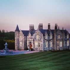 Sunrise at The Macloed House, named for my grandmother, at Trump Scotland.