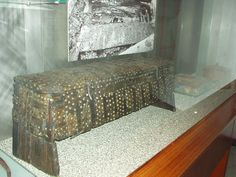 Wooden chest (Viking Ship Museum, Oslo)