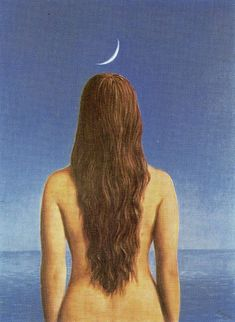 La Robe Du Soir, 1954  (The Evening Gown) Rene Magritte