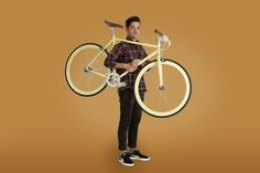 Chroma Smart Beige by Daniel Dominguez @Helsinki Studio #fixie www.chromabikes.com