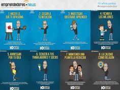 10 mandamientos que a Steve Jobs le funcionaron