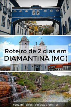 O que fazer em Diamantina. Veja roteiro para 2 ou 3 dias em Diamantina, Minas Gerais,cidade que faz parte do Caminho dos Diamantes da Estrada Real. #mineirosnaestrada #diamantina #estradareal #viagem