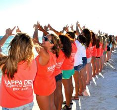 Kappa Delta at University of West Florida #KappaDelta #KD #UWF