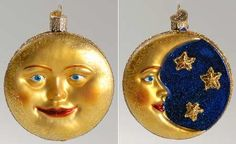 Replacements, Ltd. Search: old world christmas ornaments ~ Man In The Moon ~ NB1233 ~ CO MEFXMSOOWC &11.99