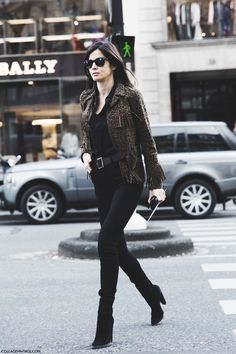 Paris_Fashion_Week-Fall_Winter_2015-Street_Style-PFW-Barbara_Martello-Leopard_JAcket-1