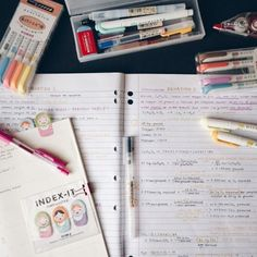 The Caffeinated Nerd — studeying: Been loving the mildliners ahhHH !!...