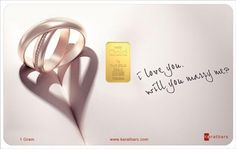 Simple design to... will you marry me?