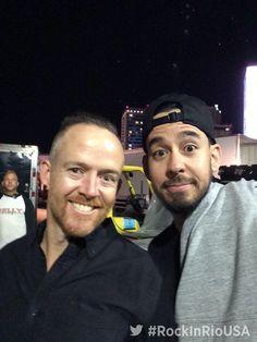 Love their crazy looking eyes Phoenix & Mike Shinoda