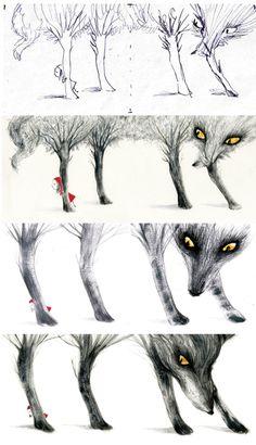 El blog de Miss LIJ: Caperucita roja ilustrada por Adolfo Serra