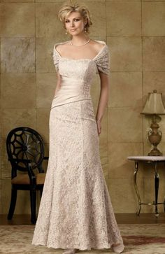 Caterina by Jordan Fashions Lace Evening Dress 9005 at frenchnovelty.com MOTHER OF THE BRIDE LOVE IT!