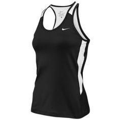 Nike Airborne Top II - Women's - Cross Country - Clothing - Black/White/White