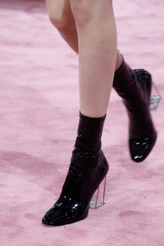 boots @ Christian Dior Spring 2015 Couture