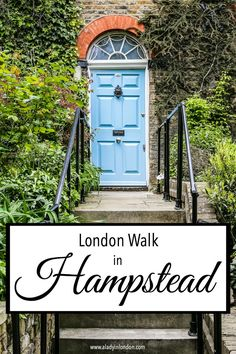 A lovely self-guided walk in Hampstead, London