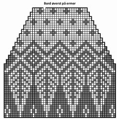 Rekonstruksjon av mysteriegenseren i alpakka. Knitted Mittens Pattern, Fair Isle Knitting Patterns, Chunky Knitting Patterns, Fair Isle Pattern, Knitting Charts, Knitting Stitches, Knitting Designs, Knitted Hats, Knit Patterns