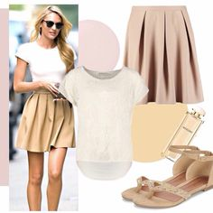 #trovamoda #outfit #beige #soft #chic #angel #girls #style #love #streetstyle #fashion #goodvibes #blondie #babes #cool #havefun #shoponline #shopping #musthave