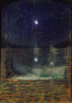Giacomo Balla (1871-1958) - La Costellazione di Orione (Lato 2), 1910