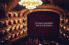 It wasn´t paradise, but it was home.