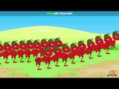 ▶ The Ants Go Marching - Nursery Rhyme with Karaoke - YouTube