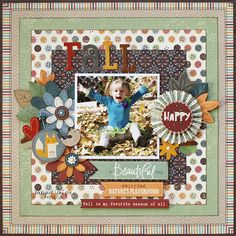 Fall *Little Yellow Bicycle* - Scrapbook.com