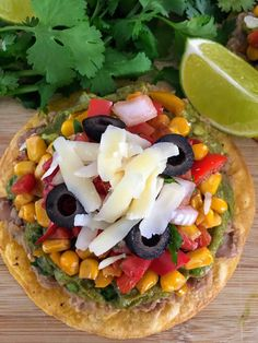 Vegetarian tostadas that are easy and packed with flavor!