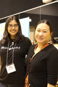 Melissa de la Cruz with teen fan