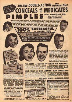 Pimples.