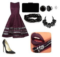 """Untitled #138"" by msperfect2k15 on Polyvore featuring Alice + Olivia, Brian Atwood, John Lewis and Fiebiger"