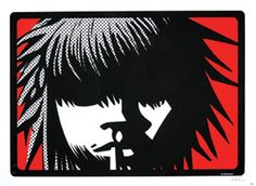 Kid by Jamie Hewlett available at Addicted Art Gallery - Medium: Hand numbered, limited edition serigraph on paper; Street Art Banksy, Graffiti, Online Gallery, Art Gallery, Jamie Hewlett Art, Gorillaz Fan Art, Punk, Tank Girl, Comic Book Artists