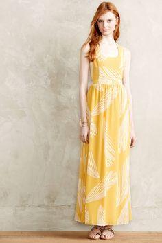 Montreux Maxi Dress - anthropologie.com