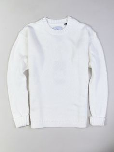 Barbour Neutral North Crew Sweater