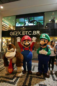 Inauguração da loja Geek.Etc.Br, no Conjunto Nacional (Foto: Felipe Rau/AE)