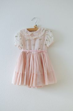 Vintage little girl's party dress