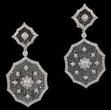 BUCCELLATI 18kt. Gold Diamond Earrings