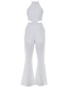 Macacão Pantalona Listras Lale