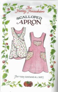 Scalloped Apron - apron pattern   $9