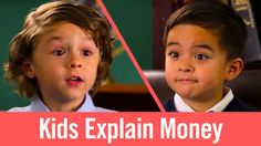 Is there anything as adorable as Kidsplaining? These kids make money funny as they talk cash, credit cards, and more.