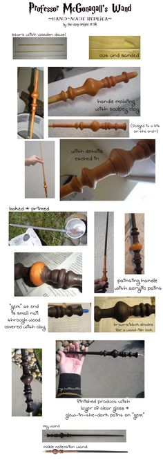 Professor McGonagall's Wand Replica by the-derp-knight.deviantart.com on @deviantART