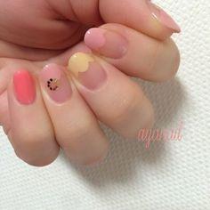 เพิ่มลูกเล่นที่ปลายเล็บ Pastel Nails, Nail Art, Beauty, Pastel Nail, Nail Arts, Beauty Illustration, Nail Art Designs