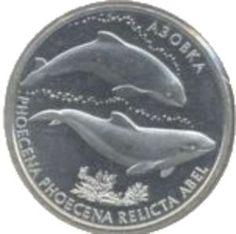 Ukraine Azov Dolphins 2004 2 H Copper-Nickel-Zinc Commemorative Coin Unc $34.99