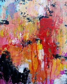 Betty Krause Art | Abstract Art | Wall Art | Contemporary Art | Colorful Art | Art on Paper | Mixed Media | Acrylic Painting | Prints Available